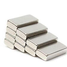 40pcs 13 mm x 5 mm x 3 mm MOLTO Forte NEODIMIO BLOCCO TERRE RARE bar magneti