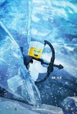 "LEGO NINJAGO - 11.5""x17"" Original Promo Movie Poster 2017 MINT BE ICE Character"