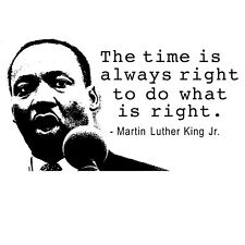 Martin Luther King Jr. T-Shirt Do what is right quote Black Lives Matter