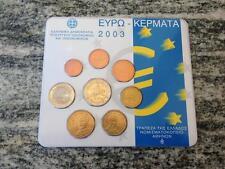 SERIE DIVISIONALE EURO 2003 GRECIA GRIECHENLAND GRIEKENLAND GREECE GRECE KMS