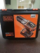 Black+Decker autosense ASD184K cordless drill 18v