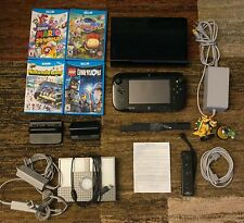 Nintendo Wii U 32GB Gaming System bundle- six games included plus extras