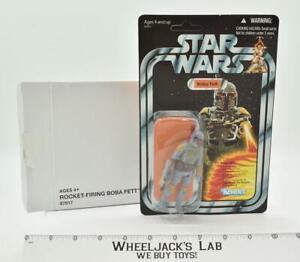 Rocket Firing Boba Fett VCP03 Mail Away W/Box Star Wars Vintage Collection