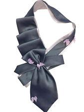 Sales -20% Tie women's. Silk 100% Italy. Collar, necklace, necktie. Hand-made