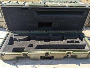 Military Hardigg Case Rifle Gun Storage w/ FOAM