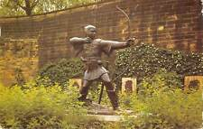 uk4996 robin hoods statue   uk