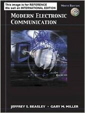 Modern Electronic Communication by Gary M. Miller(Int' Ed Paperback)9 Ed with CD