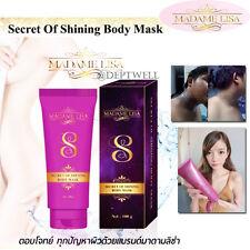 Madame Lisa SECRET OF SHINING BODY MASK DETOX Skin Eliminate Intensive Whitening