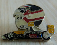RARE PIN'S F1 FORMULA ONE WILLIAMS RENAULT CASQUE BD NIGEL MANSELL
