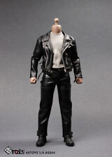 """In stock ASTOYS AS044 1/6 Punk Leather Jacket Clothes Set For 12"""" Male Body"""