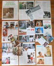 ANGELA CARRASCO coleccion de prensa 1970s/80s fotos spanish clippings