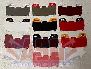 Custom Kansas City Chiefs Basic Custom MINI Football Helmet Visor, W/ Clips