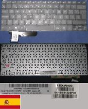 Tastiera Qwerty Spagnola ASUS X201E EX2 0KNB0-1122SP00 9Z.N8KSQ.60S Nero