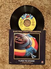 Electric Light Orchestra Turn To Stone 7 Inch Vinyl Single 45 United Artist 1977
