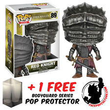 FUNKO POP DARK SOULS RED KNIGHT VINYL FIGURE WITH FREE POP PROTECTOR