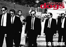 """Reservoir Dogs """"Let's Go To Work"""" 36 x 24 Inch Movie Poster Quentin Tarantino"""