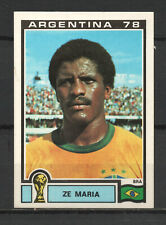 Decal/Sticker - Panini Argentina 1978 Ze Maria No.244