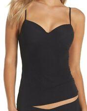 Hanro Allure Bra Cami Black Women's Pajama Size 36C 58603