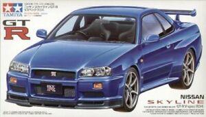 TAMIYA 24210 Nissan Skyline GT-R V-spec R34 1:24 Car Model Kit