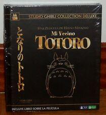 MI VECINO TOTORO COLECCION DE LUJO DIGIBOOK BLU-RAY+DVD+LIBRO NUEVO (SIN ABRIR)