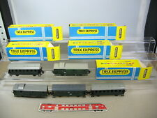 m672-1 #5x Trix Express/International H0 Passenger Car (OVP 3702+3707+3708 etc
