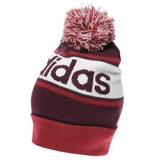 unisex adidas 2019 Performance Pompom Beanie  Headwear Red/White ;Training