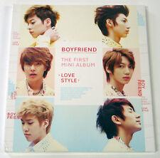 BOYFRIEND - Love Style (1st Mini Album) [CD+56p Booklet+Photocard(Random)]