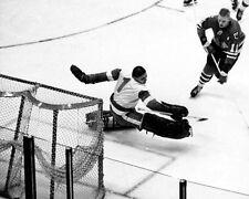 1961 Detroit Red Wings TERRY SAWCHUK vs Blackhawks Glossy 8x10 Photo  Poster