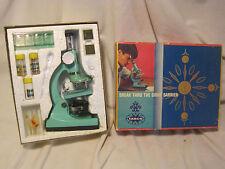 Vintage Tasco Microscope Kit #992 Discoverer  75X 150X 450X science discovery