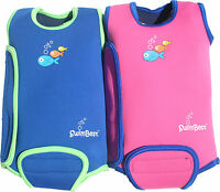 SwimBest Baby Wetsuits / Swim Wrap Size: 0-6, 6-12, 12-24mth (Blue, Pink,Orange)