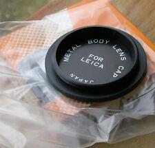 Leica Adapter LTM 39 mm Metal Body Cap, fabriqué au Japon