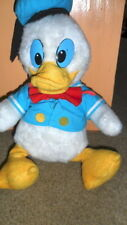 """EARLY VINTAGE 17"""" HAND CRAFTED STUFFED DONALD DUCK ~ WALT DISNEY PRODUCTIONS ~"""