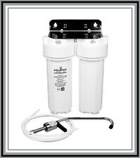Brand New Twin Water Caravan Purification System
