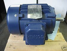 NEW 1.5 HP motor Hemco Cast Iron 3450rpm 3 phase 143T frame EBY152FBA