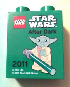 Legoland Star Wars Yoda After Dark Visitor Promotional Lego Brick Merlin 2011