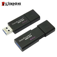 Kingston DT100G3 64GB Data Traveler 100 G3 Flash Drive unidad stick USB 3.0