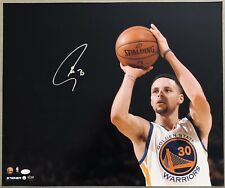 Stephen Curry Signed Warriors Autographed  16x20 NBA Auto Photo JSA STEINER 8/30