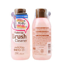 TWO DAISO JAPAN MAKE UP BRUSH CLEASER COSMETIC DETERGENT MADE IN KOREA 150ML