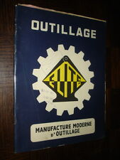CATALOGUE 54 - Manufacture Moderne d'Outillage - Saint-Etienne (Loire)