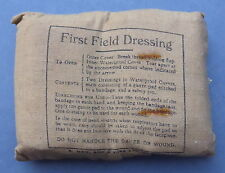 Vintage WWII Military Soldier's First Field Dressing 1930s/40s Maw & Son Sealed
