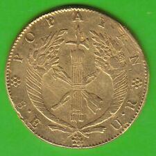 GOLD Kolumbien 8 Escudos 1836 Popayan sehr schön nswleipzig