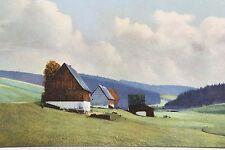 10380 AK Rehefeld Ost-Erzgebirge Hänge Zaunhaus Kalkofen 1918 Photochromie
