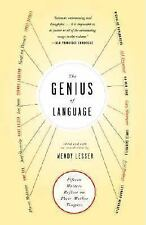 The Genius of Language: Fifteen Writers Reflect on Their Mother Tongue-ExLibrary