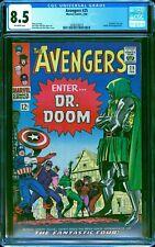 Avengers #25 CGC 8.5 -- 1966 -- Doctor Doom. Fantastic Four. Kirby #2030254019