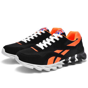 Men's Casual Sneakers Breathable Running Shoes Sports Trainers Tennis Athletic