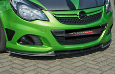 CUP Spoilerlippe für Opel Corsa D OPC Nürburgring Edt Front Schwert Splitter IN