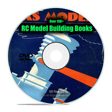 RC Model Airplane Books, Instructions, How To Build, Motors, 150 books, DVD I10