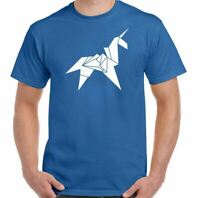 Blade Runner T-Shirt Origami Unicorn SCI-FI 80's Retro Movie Tyrell Corp Top