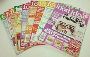 9 x SUPER FOOD IDEAS MAGAZINES - 2010
