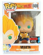 Funko Pop Vegeta Final Flash # 669 Dragon Ball Z NYCC 2019 Figure